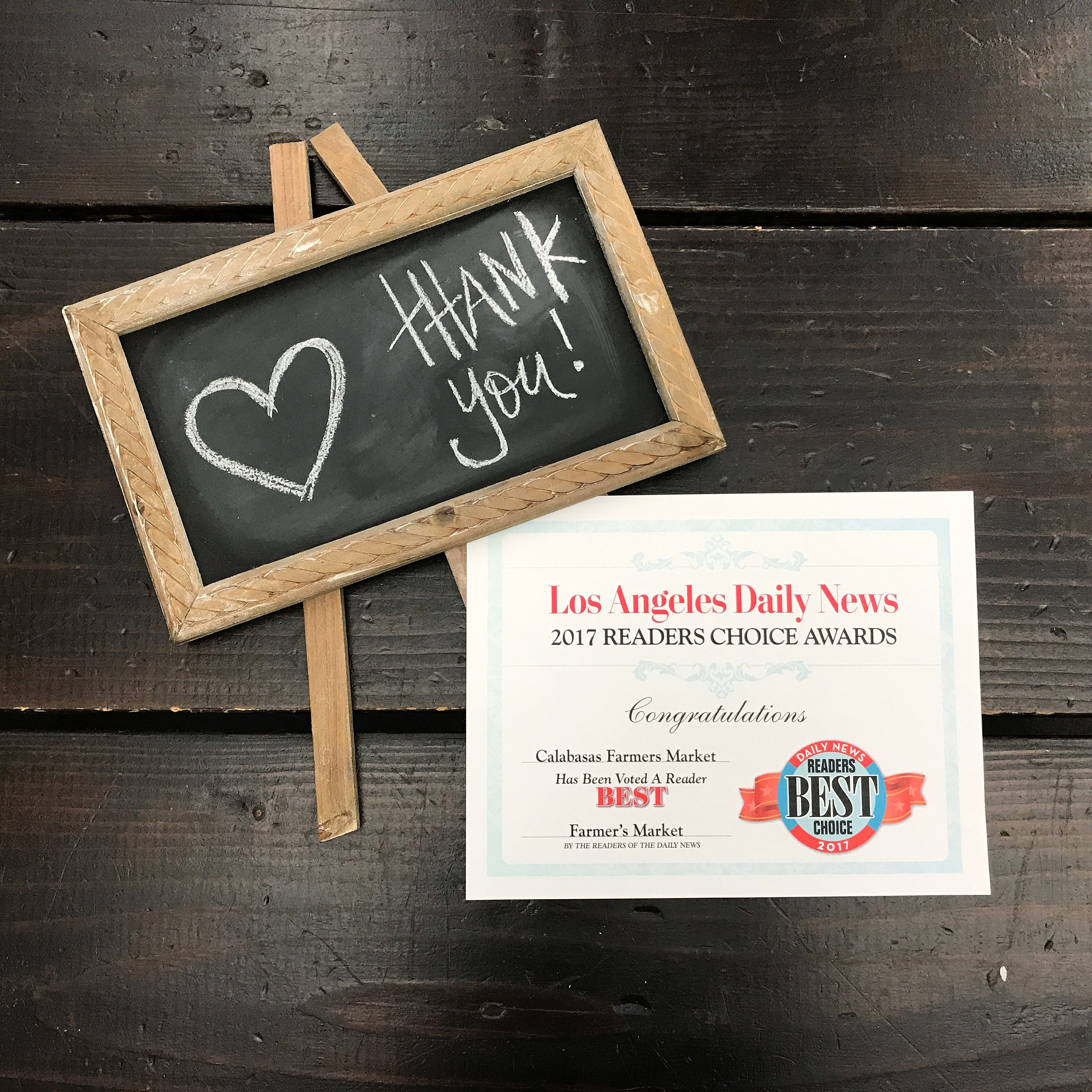 Thank you Los Angeles Daily News! | CCFM Blog