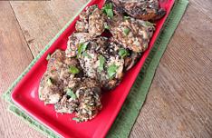 Crockpot Balsamic Chicken Thighs