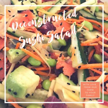 Deconstructed Sushi Salad