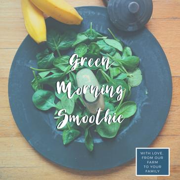 Green Morning Smoothie