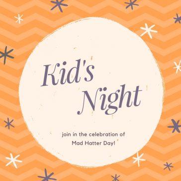 Tonight! Kid's Night at the Night Markets!