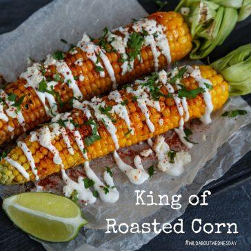 #wildaboutwednesday   King of Roasted Corn