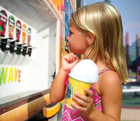 #treatyourselftuesday   Kona Ice Truck