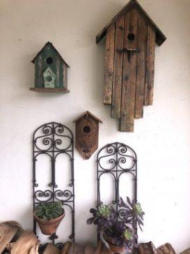 Antique Birdhouses