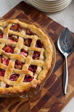 Happy Strawberry Rhubarb Pie Day!!
