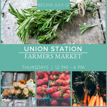 NEW!! Union Station Farmers Market