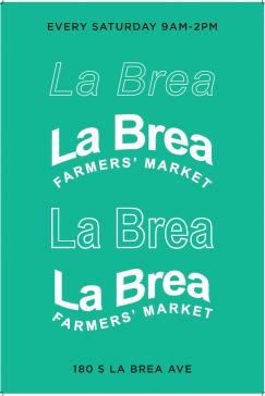 NEW! South La Brea Farmers Market