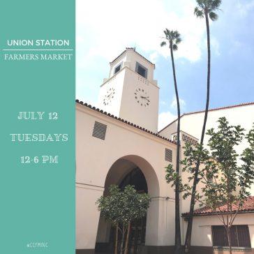 Farmers Market Visit - Union Station