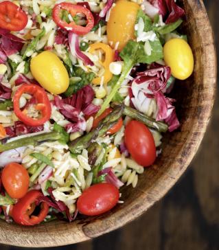Farmers Market Orzo Salad