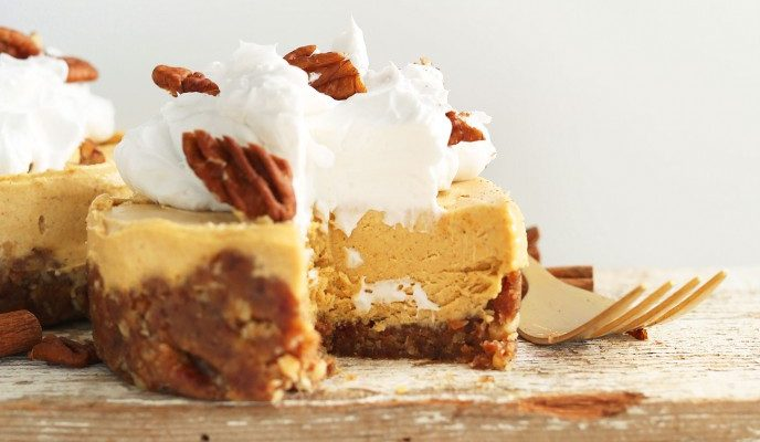 National Pumpkin Cheesecake Day!