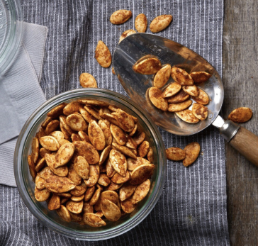 Spicy Chile Roasted Pumpkin Seeds