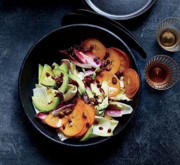 Persimmon & Endive Salad