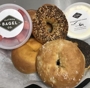 #wildaboutwednesday   Flatiron Bagel