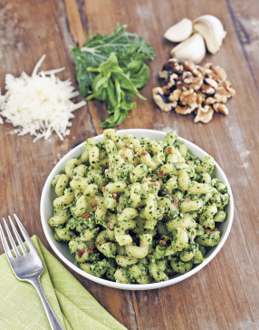 Kale Pesto with Toasted Walnuts
