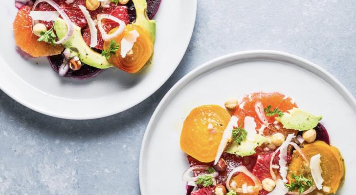 Citrus, Avocado & Beet Salad