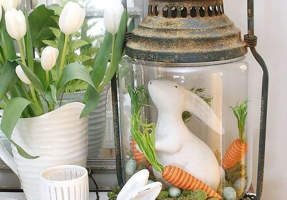 Farmhouse Easter Decor Inspo