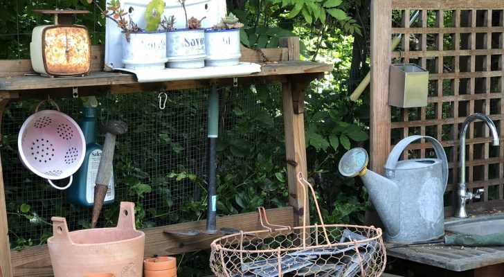 Farmhouse Summer Garden Prep