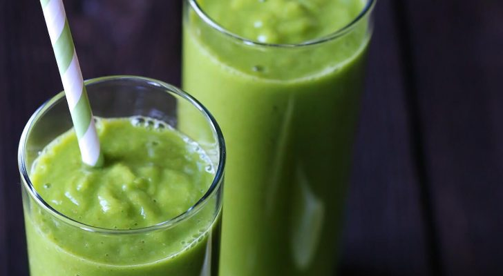 Jennifer's Green Morning Smoothie