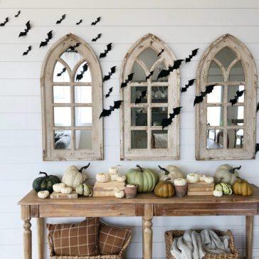 Halloween Decor at the Farmhouse