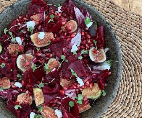 Fig, Pomegranate, & Beet Salad