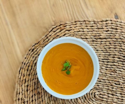 Creamy Chipotle Sweet Potato Soup