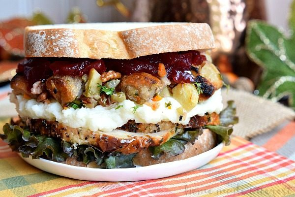 Thanksgiving Leftovers ... all about the perfet Sandwich!