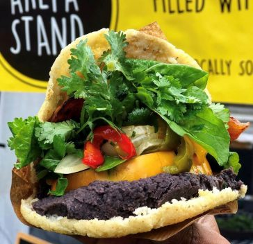 #wildaboutwednesday   The Arepa Stand