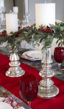 Christmas Eve Tablescape & Menu Inspiration