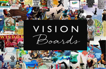 New Year Goals & Vision Board
