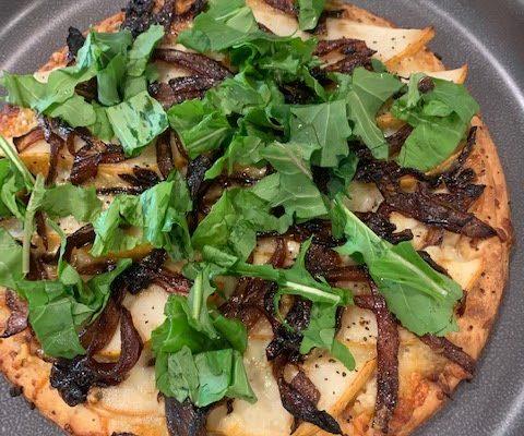 Balsamic Onion & Pear Pizza