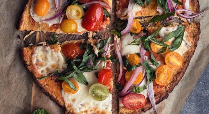 National Pizza Day - celebrate with Cauliflower Crust!